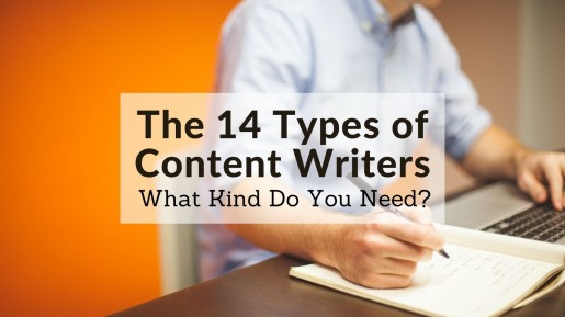 The 14 Types of Content Writers - What Kind Do You Need?